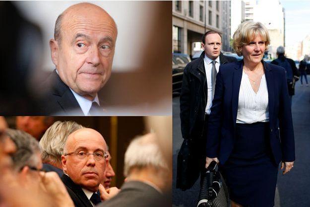 Alain Juppé, Nadine Morano et Eric Ciotti ont apporté leur soutien à Nicolas Sarkozy après son interview sur TF1.