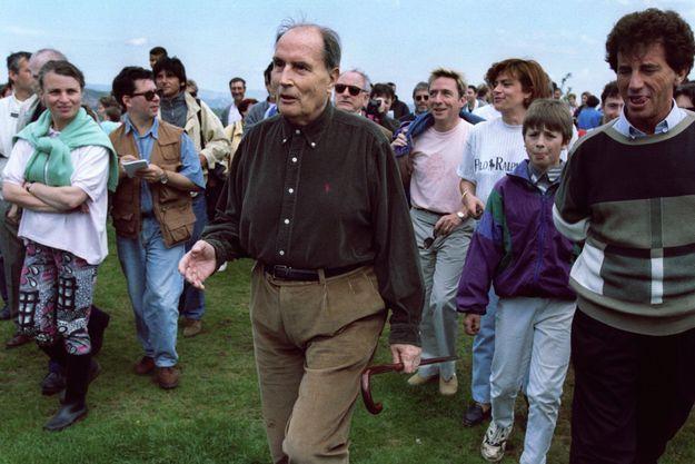 Mitterrand Solutré