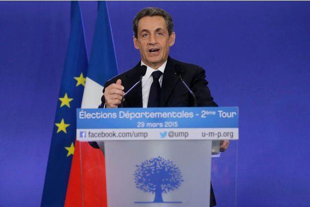 Nicolas Sarkozy est le grand vainqueur de l'élection départementale.