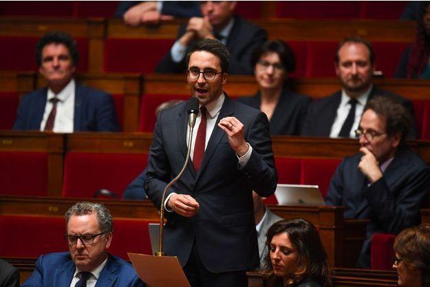 Thomas Mesnier à l'Assemblée nationale