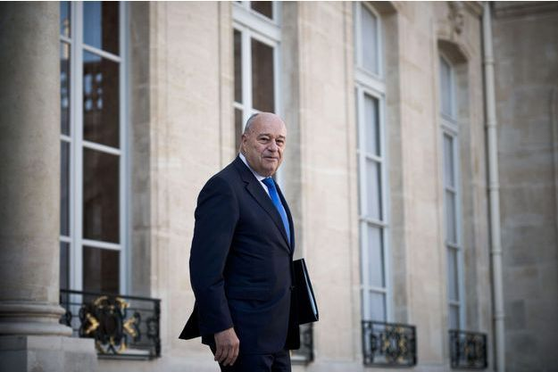 Jean-Michel Baylet à l'Elysée, le 5 octobre. Le ministre rejette les accusations relayées par Isabelle Attard.