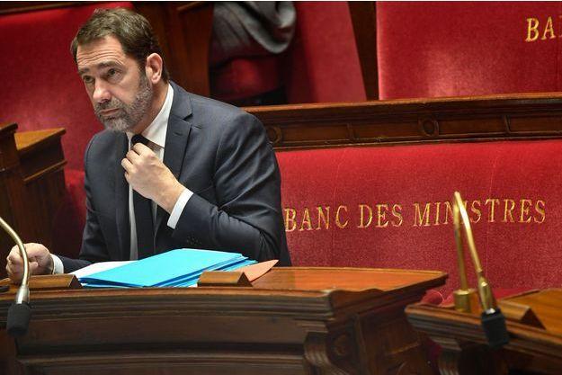 Christophe Castaner dans l'Assemblée nationale, le 5 février 2019.
