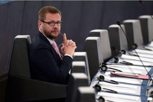 Jérôme Lavrilleux, ici à Strasbourg en mai 2015, a désormais quitté le Parlement européen.