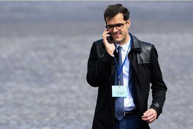 Ismaël Emelien a annoncé sa démission le 11 février 2019.