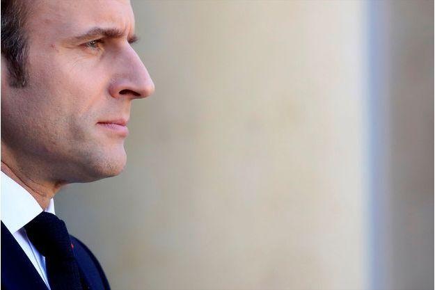 « J'ai un travail à faire sur moi-même » a confié Emmanuel Macron.
