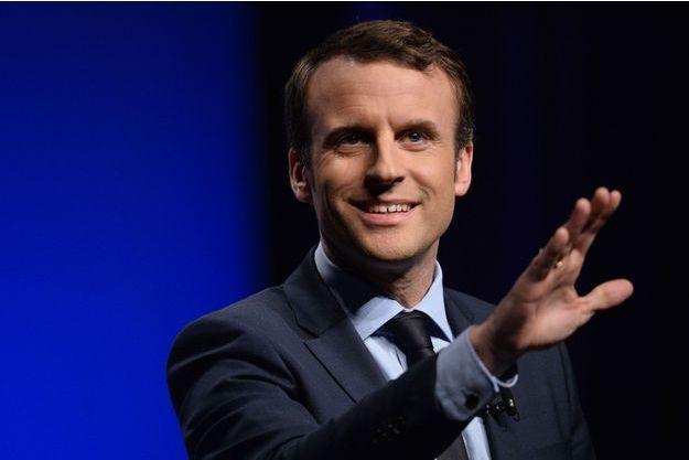 Emmanuel Macron en meeting à Angers, le 28 février.
