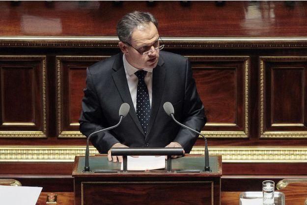 Le rapporteur LR François-Noël Buffet.