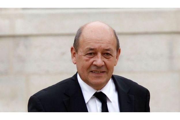 Jean-Yves Le Drian, le ministre de la Défense.
