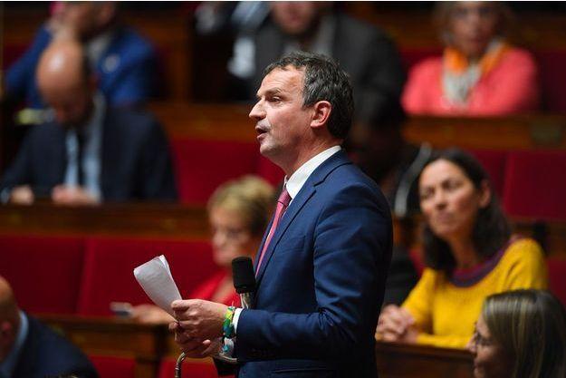 Le député François-Michel Lambert à l'Assemblée nationale en novembre dernier.