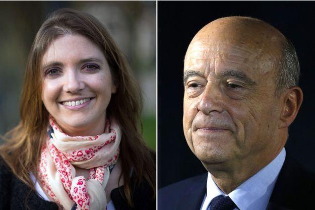 Aurore Bergé, candidate En marche dans la 10e circonscription des Yvelines, a reçu le soutien d'Alain Juppé.