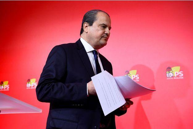 Jean-Christophe Cambadélis, premier secrétaire du Parti socialiste, à Paris, le 24 avril.