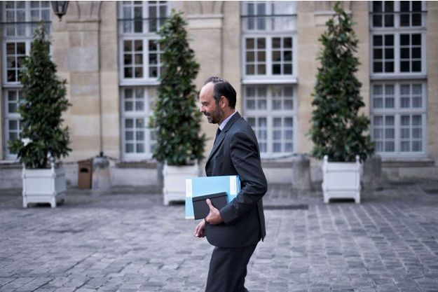 Le Premier ministre Edouard Philippe à Matignon le 8 juin dernier.