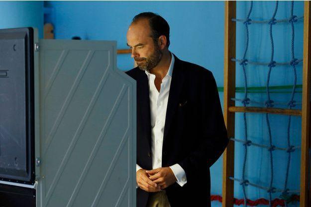 Le Premier ministre Edouard Philippe a voté au Havre lors du premier tour des élections législatives.