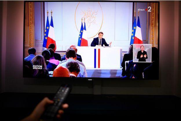 Près de 7 millions de téléspectateurs ont suivi la conférence de presse du chef de l'Etat.