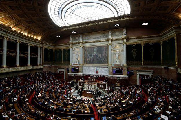 L'Assemblée nationale ici en décembre 2018 (image d'illustration)