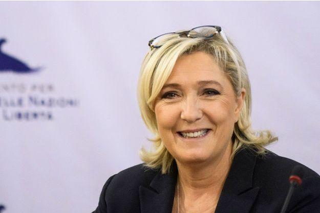 Marine Le Pen, en novembre 2018 à Sofia.