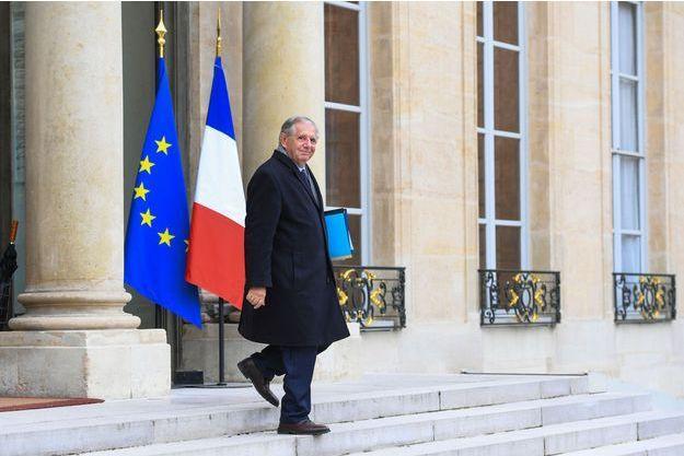 Jacques Mézard, ministre de la Cohésion des territoires, à l'Elysée le 27 septembre.