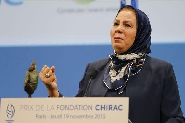 Latifa Ibn Ziaten en novembre 2015.