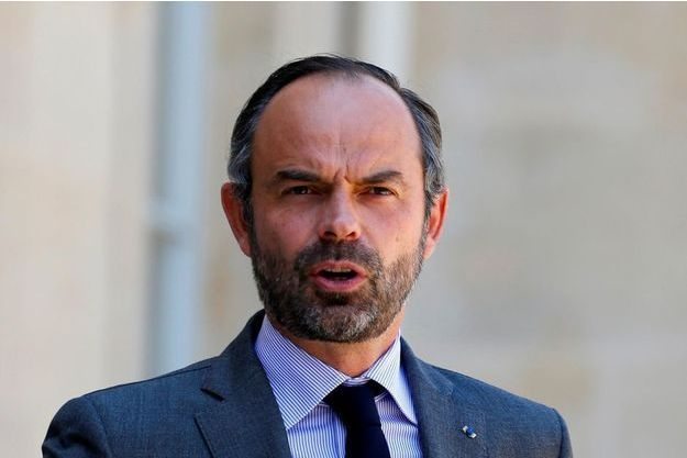 Edouard Philippe à l'Elysée, le 6 juillet 2018.