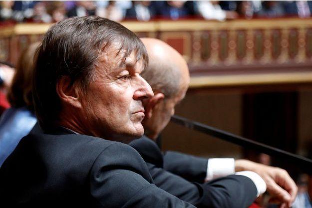 Nicolas Hulot, début juillet à Versailles pour le discours de Macron devant le Congrès.