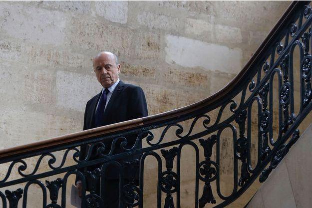 Alain Juppé à Bordeaux en mars 2017.