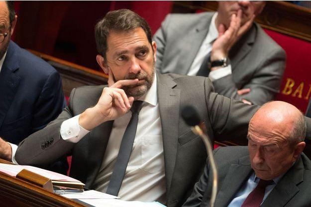 Christophe Castaner à l'Assemblée nationale, le 13 mars dernier.