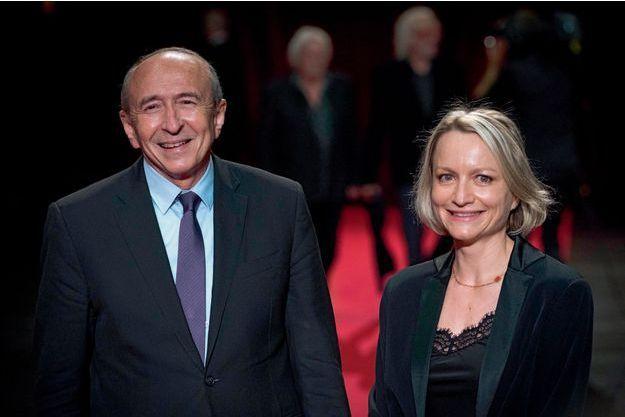 Gérard et Caroline Collomb.