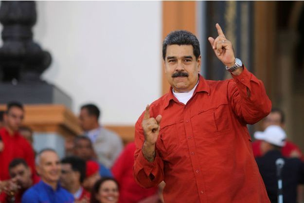 Nicolas Maduro jeudi à Caracas.