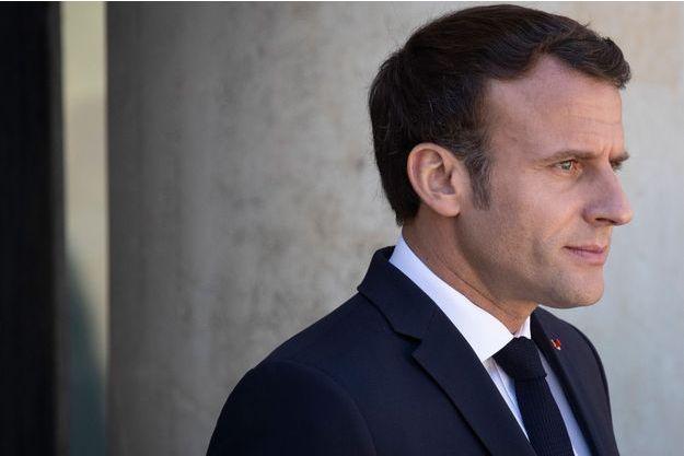 Emmanuel Macron, ici à l'Elysée le 15 mai.