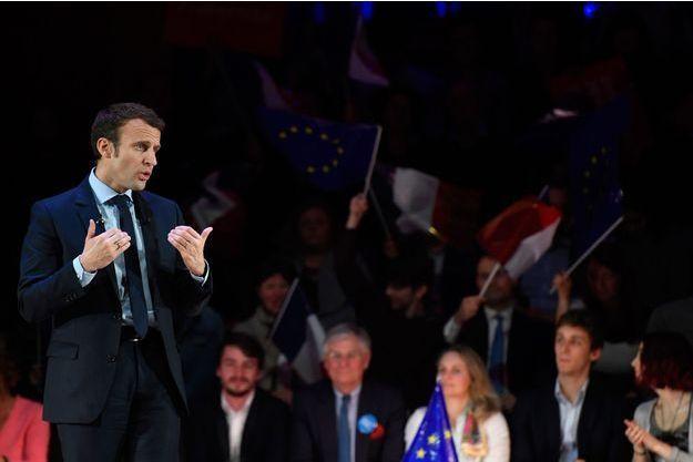 Emmanuel Macron répond à Christiane Taubira.