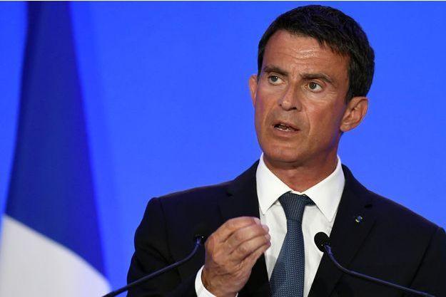 Manuel Valls à Montluçon le 11 août dernier.