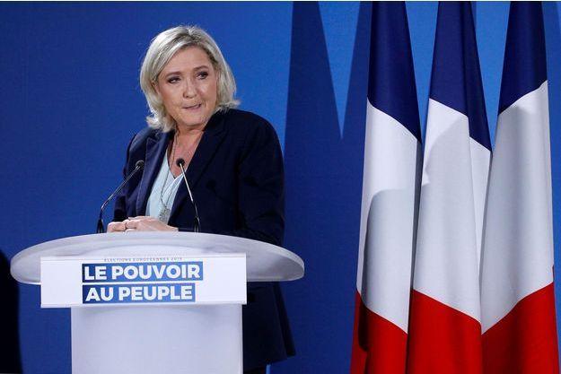 Marine Le Pen en février dernier.