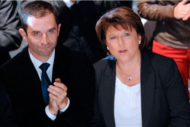 Martine Aubry et ses proches voteront pour Benoît Hamon au second tour de la primaire du PS.