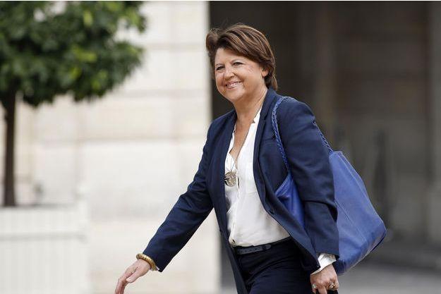 Martine Aubry arrive à l'Elysée pour un déjeuner consacré à l'organisation de l'Euro 2016, le 11 septembre dernier.