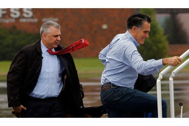 Mitt Romney à Vandalia, dans l'Ohio, le 30 octobre.