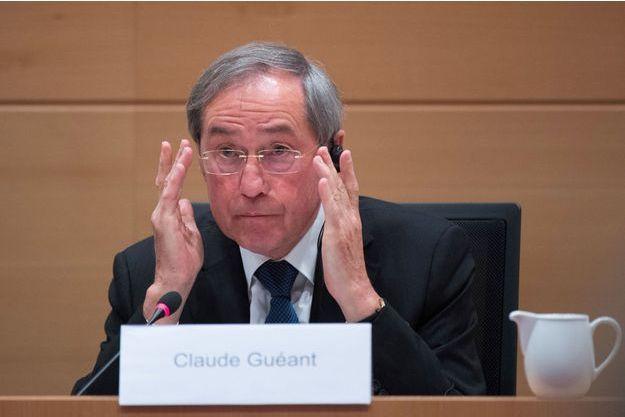Claude Guéant en Belgique en mai 2017.
