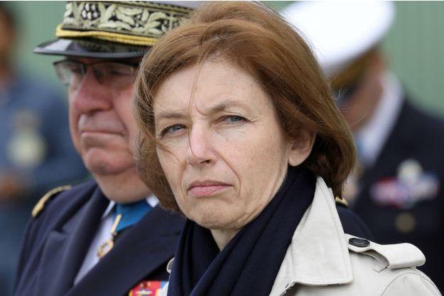 La ministre française des Armées Florence Parly, ici lors d'un déplacement à Saint-Agnant, en juin.