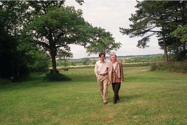 François et Penelope Fillon à Guérande, en 2003.