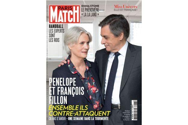 La couverture du numéro 3533 de Paris Match
