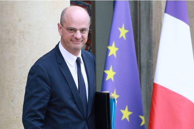 Jean-Michel Blanquer, le 10 avril à Paris.