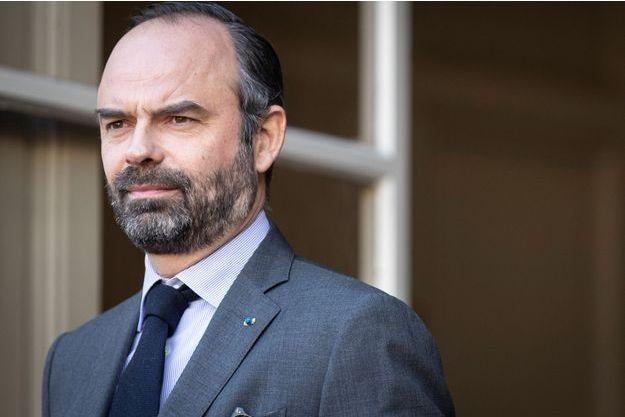 Edouard Philippe, à Matignon en janvier.