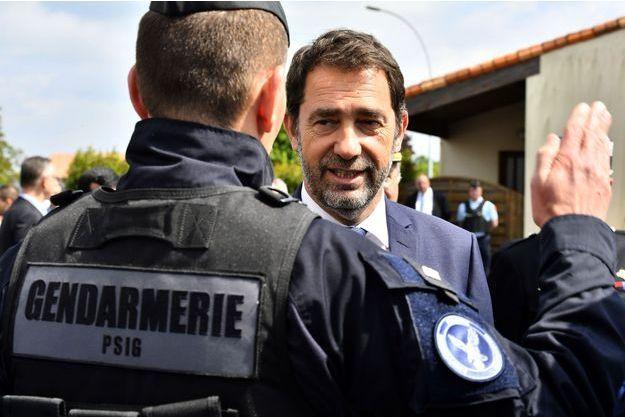 Christophe Castaner en Charente, jeudi.