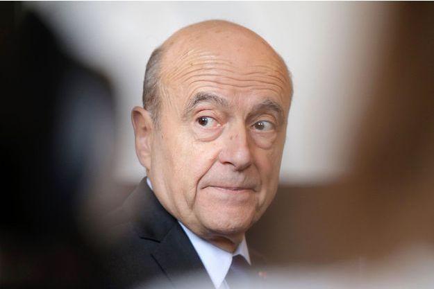 Alain Juppé en mai 2017.