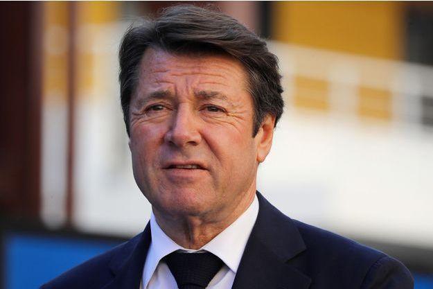 Le maire de Nice Christian Estrosi.