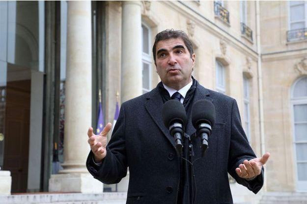 Le chef de file des députés LR Christian Jacob ici à l'Elysée en février dernier.