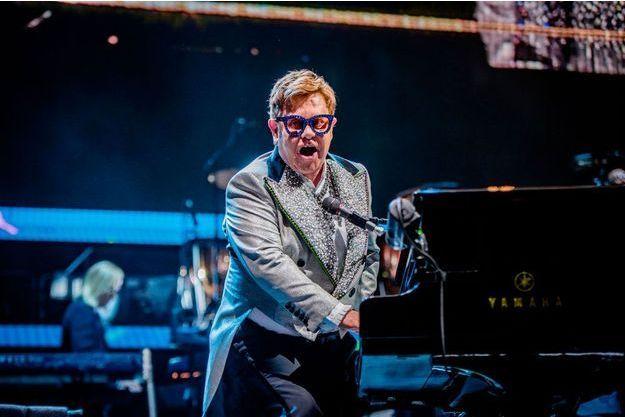 Elton John à Amsterdam, aux Pays-Bas, le 8 juin.