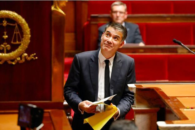 Olivier Faure à l'Assemblée nationale, le 25 octobre dernier.