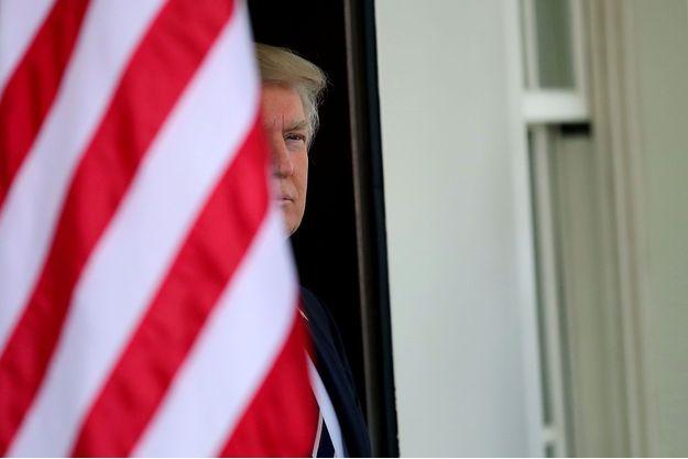 Donald Trump à la Maison-Blanche, le 3 avril dernier.