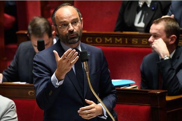 Edouard Philippe, à l'Assemblée nationale la semaine dernière.