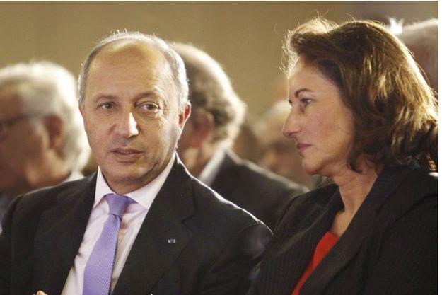 Laurent Fabius et Ségolène Royal.